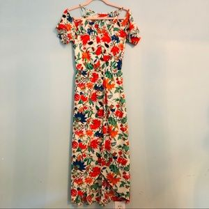 Fraiche by j midi floral dress